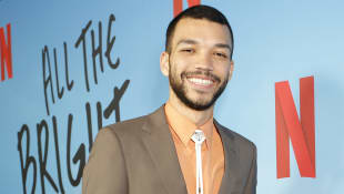"Justice Smith bei der Netflix-Premiere von ""All the Bright Places"""