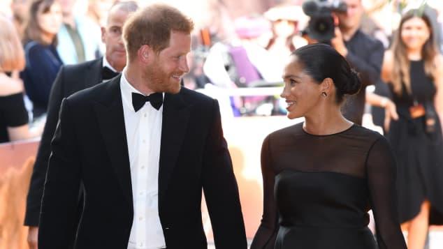 """Prinz Harry und Herzogin Meghans eigene Stiftung trägt den Namen """"Sussex Royal"""""""
