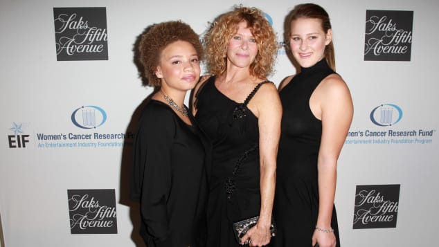 Mikaela George Spielberg, Kate Capshaw und Destry Allyn Spielberg