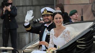 Prinzessin Sofia und Carl Philip