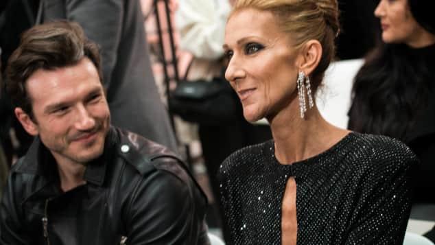 Céline Dion bei der Paris Fashion Week 2019