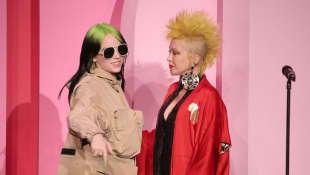 Billie Eilish und Cyndi Lauper