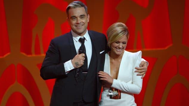 Helene Fischer und Robbie Williams