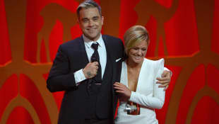 Robbie Williams Helene Fischer Foto