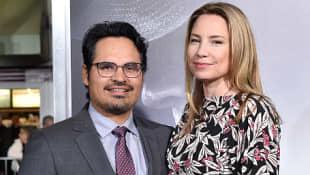 Michael Peña und Brie Shaffer
