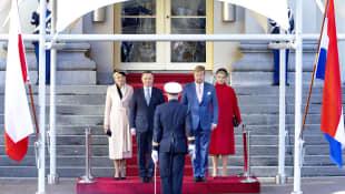 König Willem-Alexander, Königin Máxima, Andrzej Duda und Agata Kornhauser-Duda