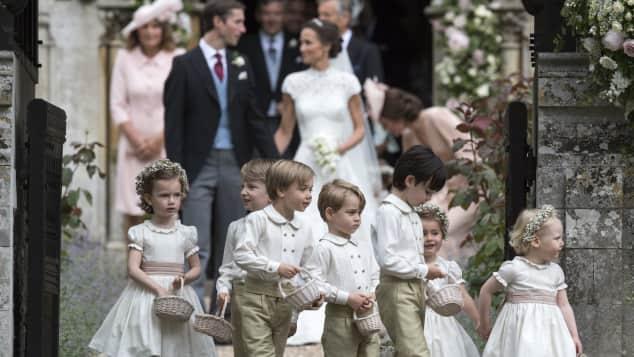 Pippa Middleton, Pippa Middleton Hochzeit, Prinz George, Prinzessin Charlotte