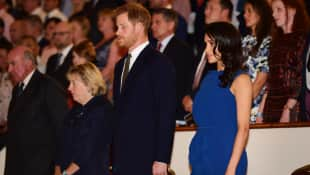 Herzogin Meghan: Neuer Auftritt heizt Schwangerschaftsgerüchte weiter an