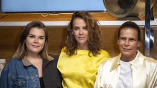 Camille Gottlieb, Pauline Ducruet und Stephanie von Monaco