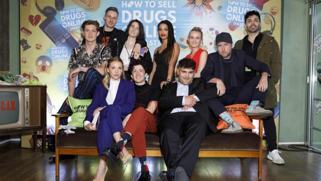 """Die """"How to Sell Drugs Online (Fast)"""" Schauspieler"""