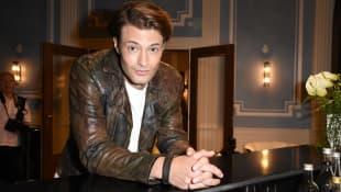 """Julian Schneider am """"Sturm der Liebe""""-Set"""