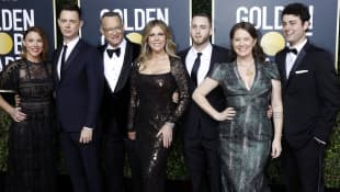 Tom Hanks Familie
