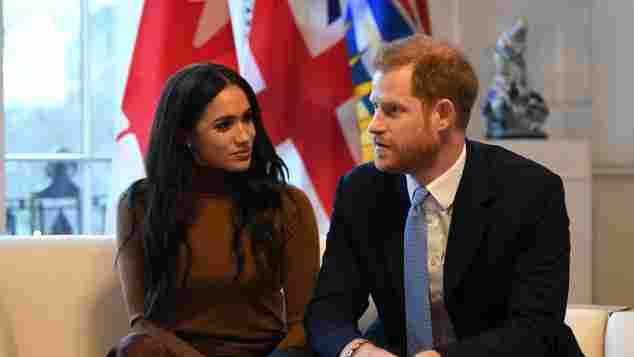 Herzogin Meghan und Prinz Harry verlassen britisches Königshaus