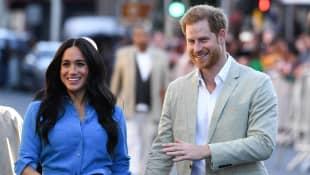 Prinz Harry und Herzogin Meghan bei ihrem Besuch in Südafrika am 23. September 2019
