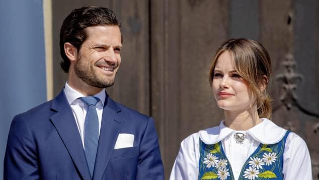 Prinz Carl Philip und Prinzessin Sofia teilen neues Bild