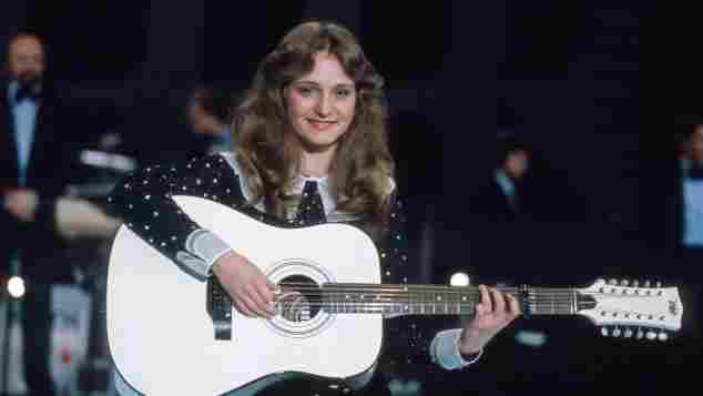 Nicole beim deutschen Vorentscheid zum Grand Prix 1982