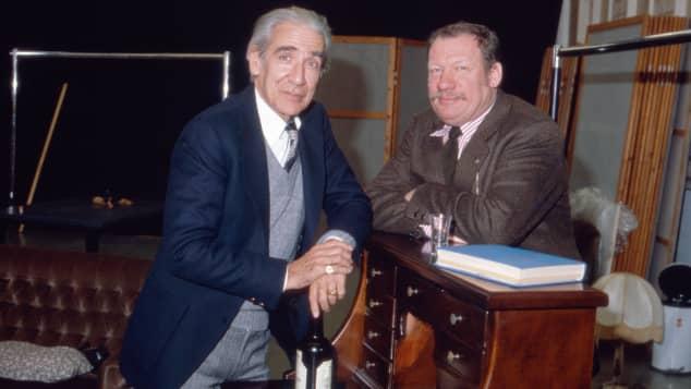 Lukas Ammann und Wolfgang Völz