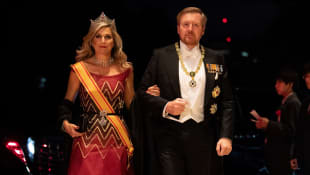 königin máxima, könig willem-alexander japan