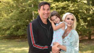 Daniela Katzenberger und Lucas Cordalis mit ihrer Tochter Sophia Cordalis