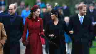 Prinz William, Herzogin Kate, Herzogin Meghan und Prinz Harry