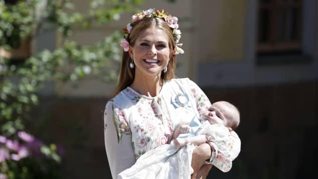 Prinzessin Madeleine und Prinzessin Adrienne