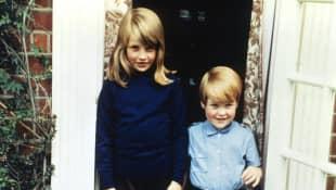 Lady Diana und Charles Spencer