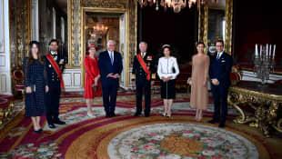 Schwedische Royals, Frank-Walter Steinmeier