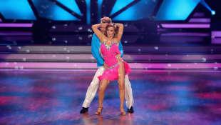 """""""Let's Dance"""": Tina Ruland und Vadim Garbuzov"""
