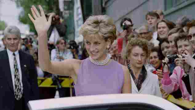 Lady Diana bei ihrem Besuch in Sydney am 1. November 1996