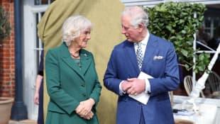 Camilla und Prinz Charles: Seit 2005 sind die beiden verheiratet