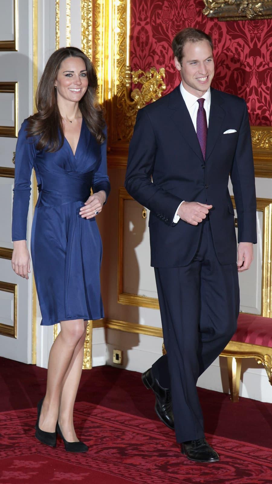 10 Jahre Kate Middleton Effekt Das Kleid Das Alles Veranderte