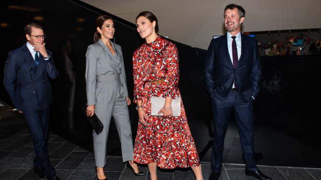 Prinz Frederik, Prinzessin Mary, Prinzessin Victoria, Prinz Daniel