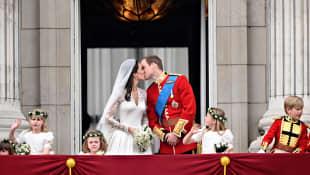 Kate Middleton und Prinz William Hochzeit