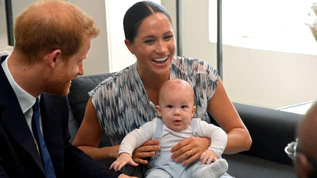 Prinz Harry, Herzogin Meghan, Archie