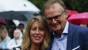 Frank Plasberg und Anne Gesthuysen; Frank Plasberg; Frank Plasberg und seine Frau