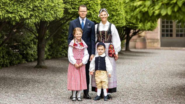 Kronprinzessin Victoria und ihre Familie