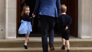 Prinzessin Charlotte, Prinz William und Prinz George