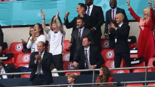 Prinz William, Prinz George, Herzogin Kate, Ed Sheeran, David Beckham, Romeo Beckham, Ellie Goulding