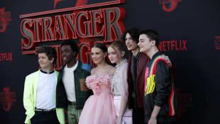 """Der """"Stranger Things"""" Cast"""
