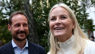 Prinzessin Mette-Marit und Haakon von Norwegen
