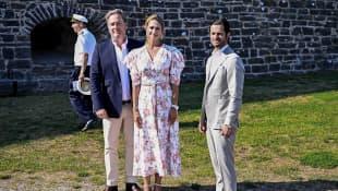 Chris O'Neill, Prinzessin Madeleine und Prinz Carl Philip