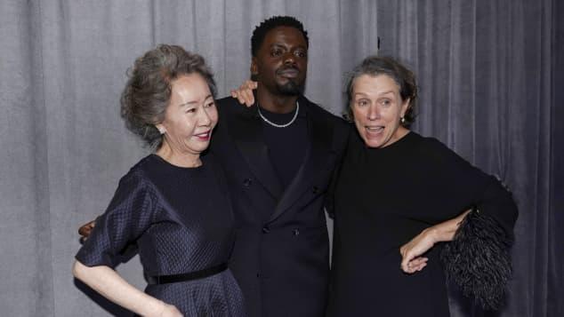 Yoon Yeo-jeong, Daniel Kaluuya und Frances McDormand oscar gewinner 2021