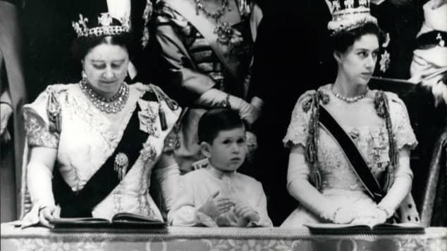 Prinz Charles und Prinzessin Margaret