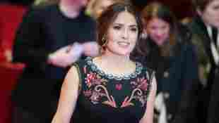 Schauspielerin Salma Hayek bei der 70. Berlinale 2020 in Berlin