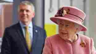 Königin Elisabeth II. Assistent