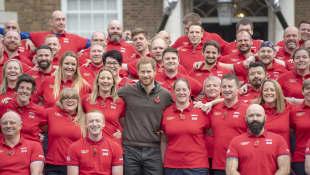 Prinz Harry und Team UK
