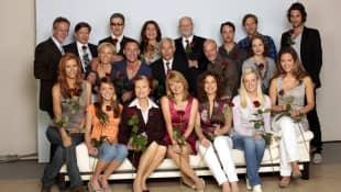 """""""Rote Rosen""""-Cast 2009"""
