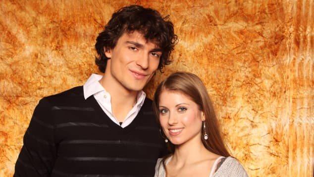 Mats Hummels und Cathy Hummels früher