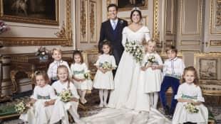 Das offizielle Hochzeitsfoto von Prinzessin Eugenie und Jack Brooksbank