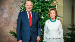 König Harald V. und Sonja von Norwegen
